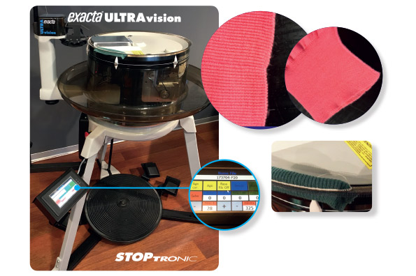 Detraibilità fiscale della rimagliatrice EXACTA Ultravision Stoptronic 4.0